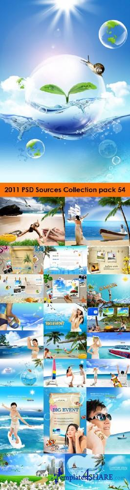 2011 PSD Sources Collection (Pack 54) - Summer Edition