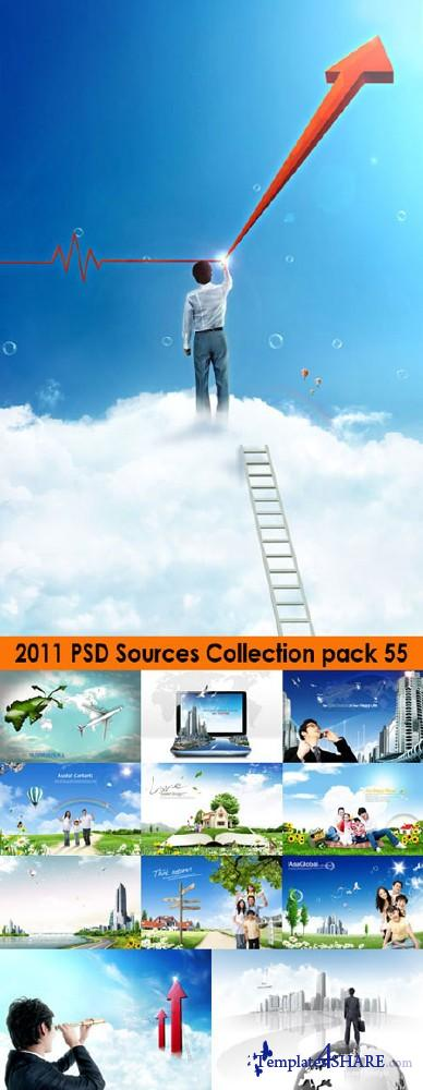 2011 PSD Sources Collection (Pack 55)