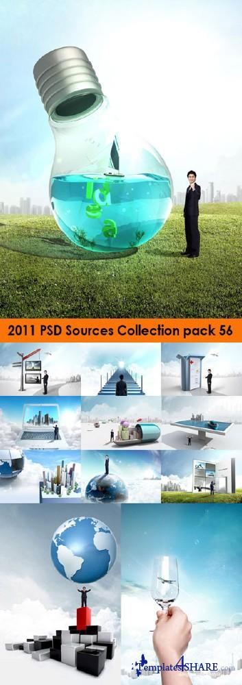 2011 PSD Sources Collection (Pack 56)
