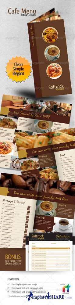GraphicRiver Cafe Menu Indesign Template