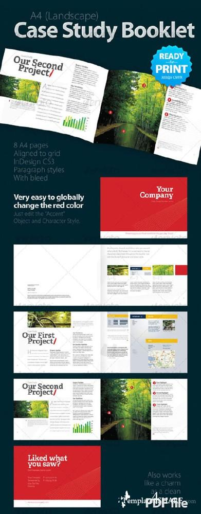GraphicRiver Case Study Booklet (8 pages)