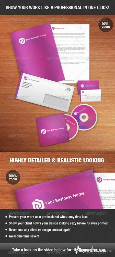 GraphicRiver Identity Mock-up Kit