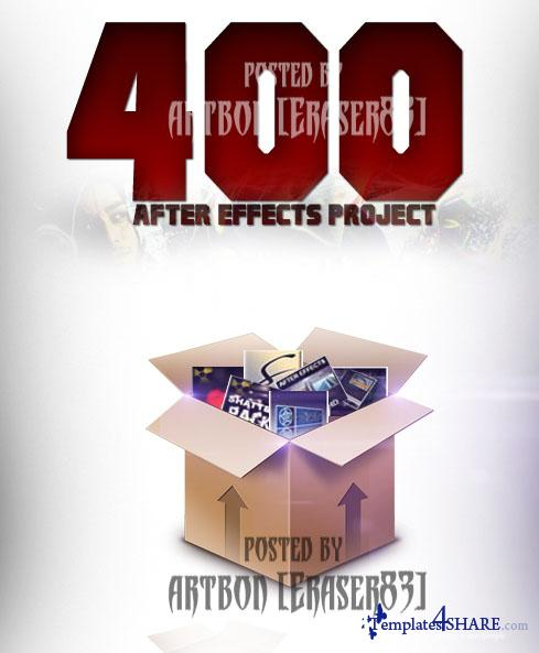 400 Projects Collection for After Effects