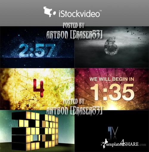 Countdown Pack - iStockvideo Footages