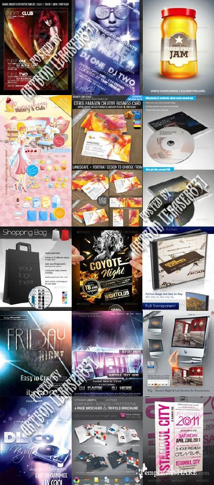 GraphicRiver Stylish Design Collection 9