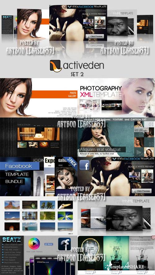 ActiveDen Flash Templates Pack 2