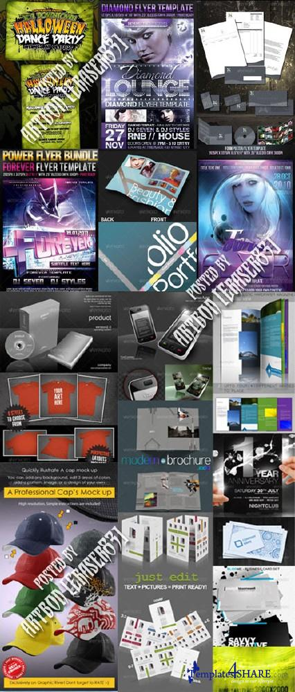 GraphicRiver Stylish Design Collection 10