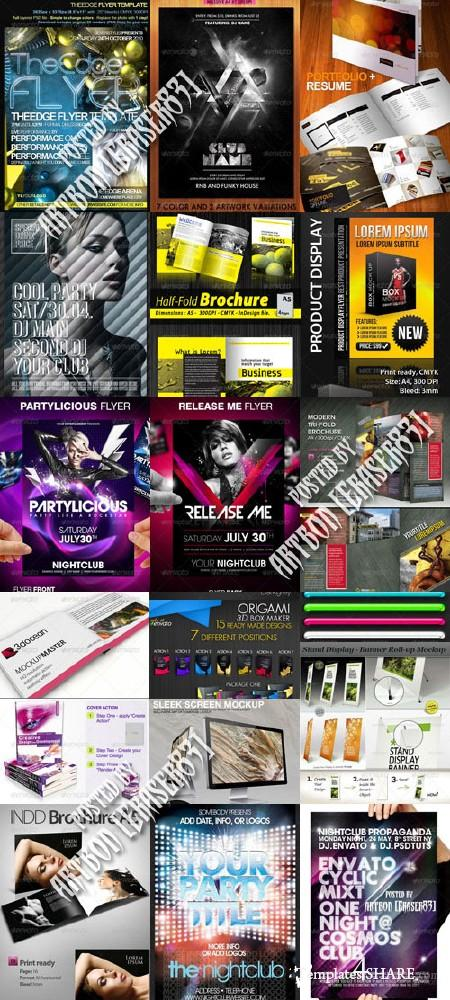 GraphicRiver Stylish Design Collection 12