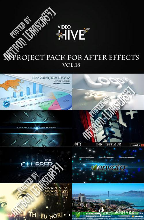 18 Project Pack for After Effects Vol.18 (Videohive)