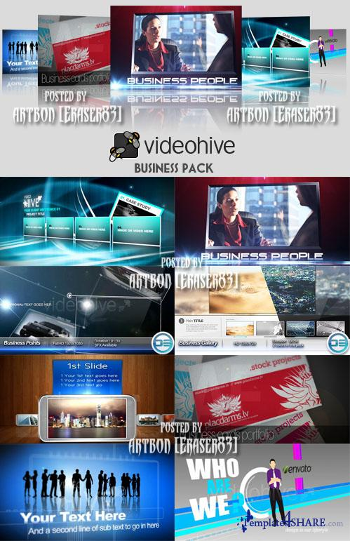 Videohive Projects - Business Pack