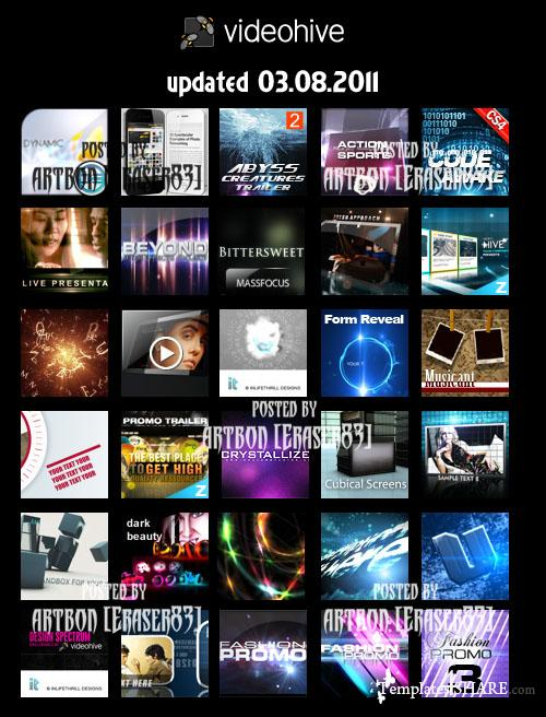 Videohive Mega Bundle Collection (updated 03.08.2011)