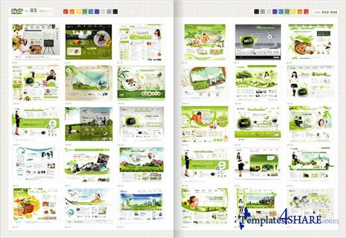 Web Design Master PSD Sources Collection (DVD 3)