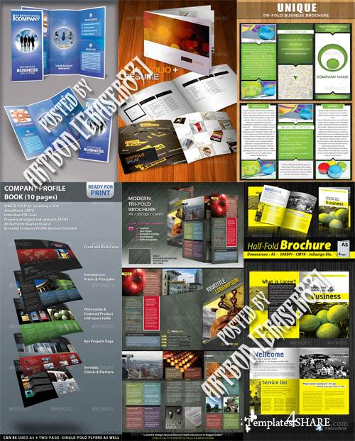 GraphicRiver Brochure Templates Pack 5