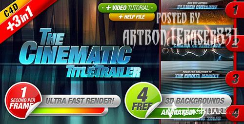 Cinematic Titles 3 in 1 - Project for After Effects (Videohive)