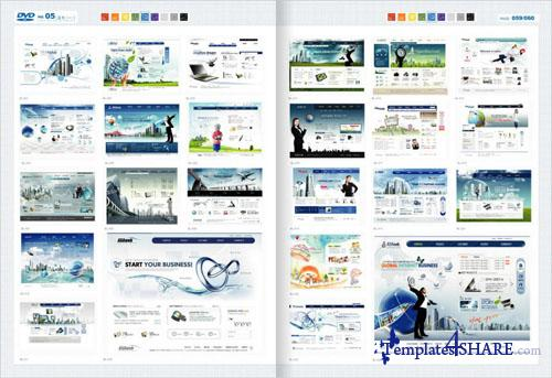 Web Design Master PSD Sources Collection (DVD 5)