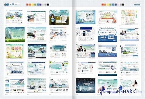 Web Design Master PSD Sources Collection (DVD 7)