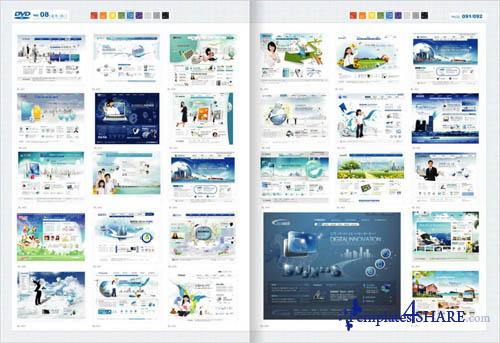 Web Design Master PSD Sources Collection (DVD 8)