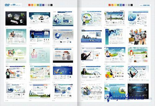 Web Design Master PSD Sources Collection (DVD 9)