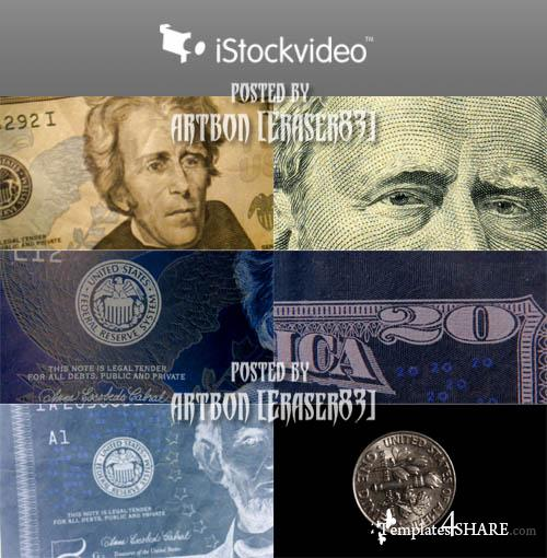 Dollars Pack - iStockvideo Footages