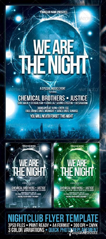 GraphicRiver Nightclub Flyer/Poster