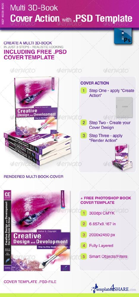 GraphicRiver Multi 3D-Book Cover