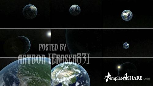 High Quality Earth Animations Pack - Footage for After Effects (Videohive)
