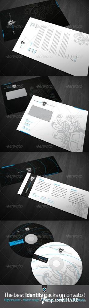 GraphicRiver RW Sophisticated Modern Corporate Identity