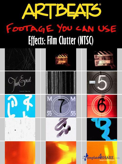 Artbeats Effects: Film Clutter (NTSC)