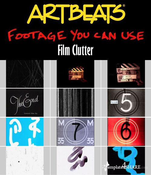 Artbeats Effects: Film Clutter (PAL)