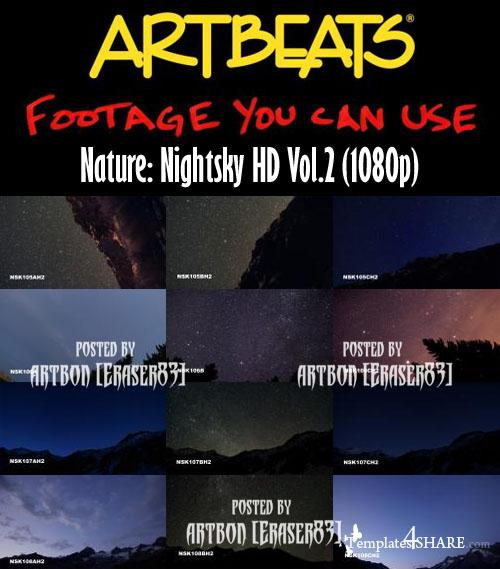 Artbeats Nature: Nightsky HD Vol.2 (1080p)