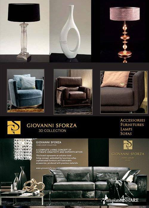 Giovanni Sforza Furniture - 3D Models