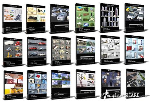 DOSCH 3D Bigest Collection - 3D Models
