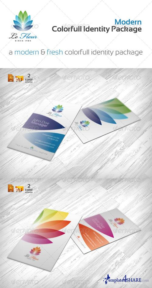 GraphicRiver RW Colorful Print Package