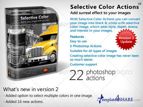 GraphicRiver Selective Color Actions