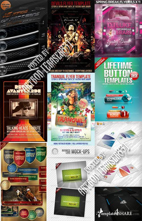 GraphicRiver Stylish Design Collection 18