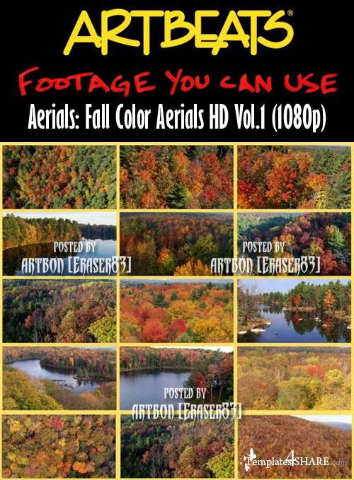 Aerials: Fall Color Aerials HD Vol.1 (1080p)