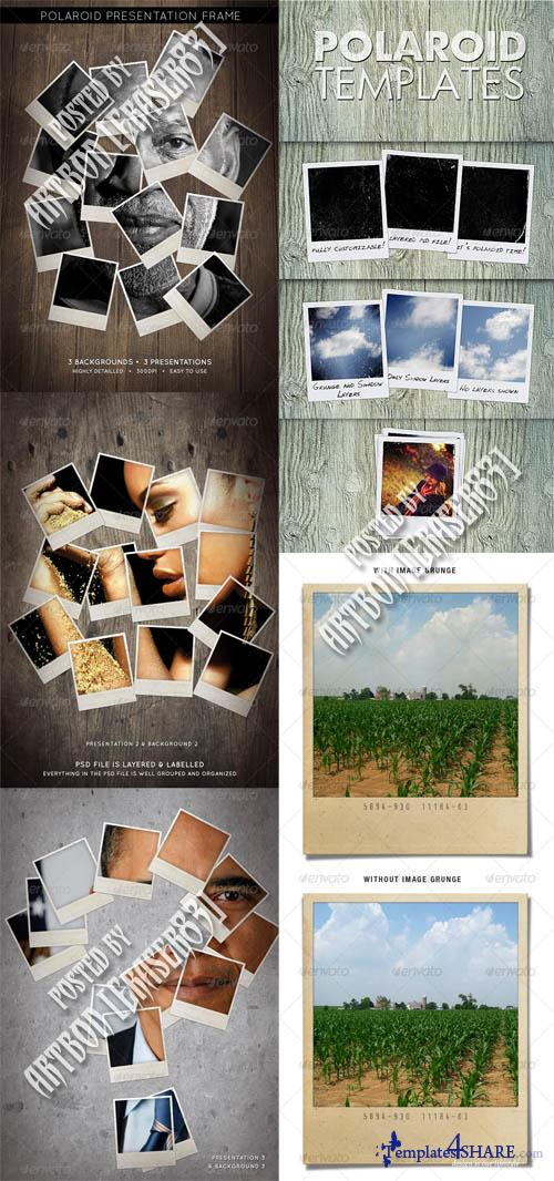 GraphicRiver Polaroid Templates Pack