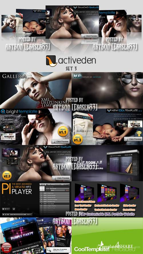 ActiveDen Flash Templates Pack 3