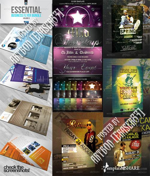 GraphicRiver Flyers Templates Pack 19
