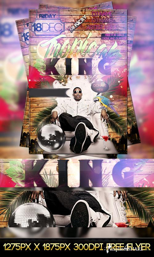 PSD Tropical King Flyer