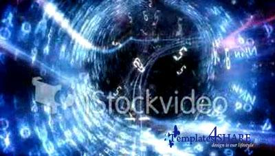 Digital Tunnel Journey - iStockvideo Footage