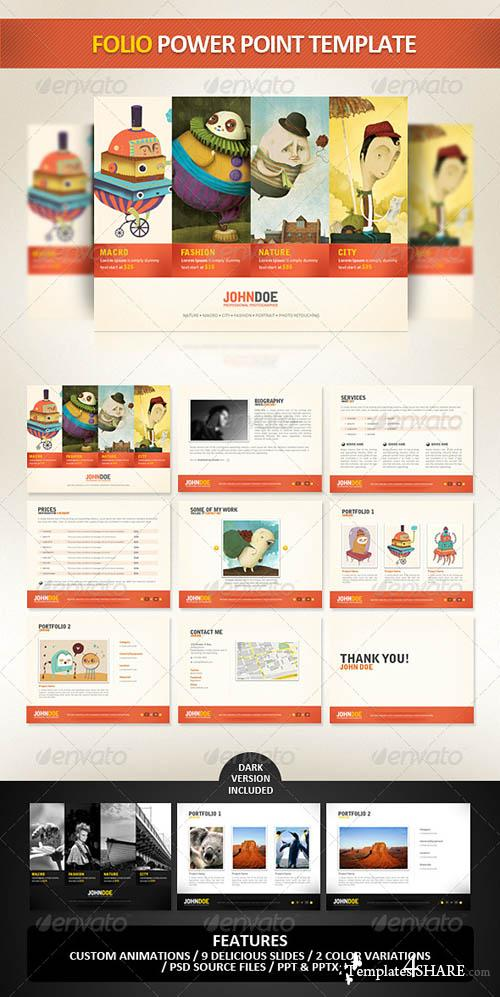 GraphicRiver Folio PowerPoint Presentation Template