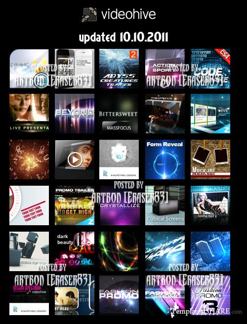 Videohive Mega Bundle Collection (updated 10.10.2011)