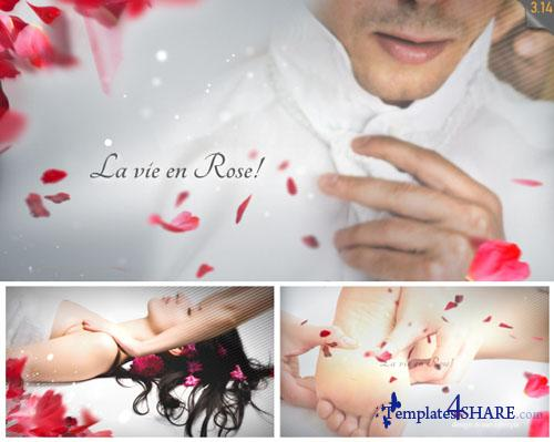 La Vie en Rose - Wedding template - Project for After Effects (Videohive)