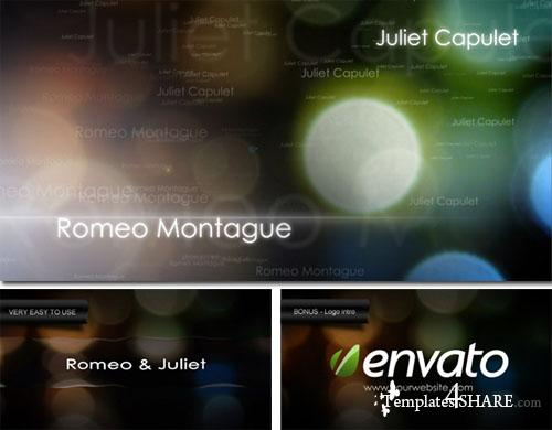 Romeo & Juliet  - Project for After Effects (Videohive)