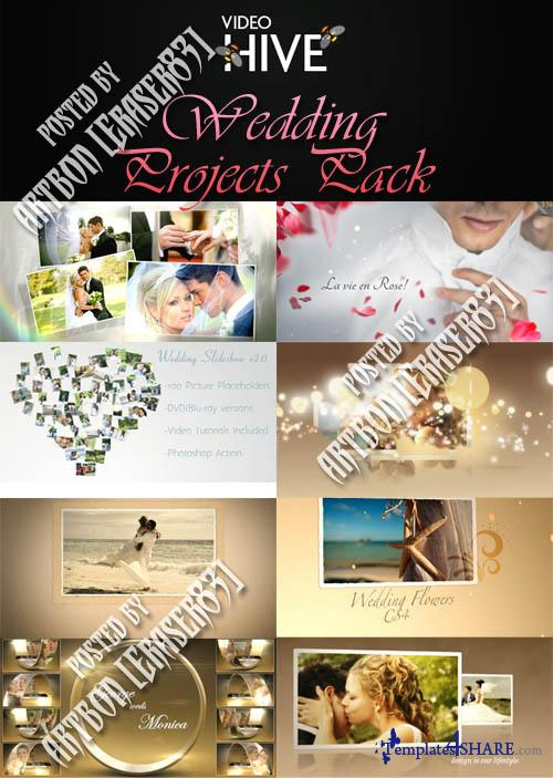 Videohive Projects - Wedding Pack