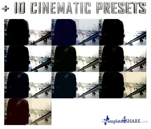 Ultimate Epic Titles + 10 Cinematic Presets - Project for After Effects (Videohive)