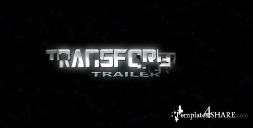 Transformer Trailer  - Project for After Effects (Videohive)