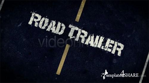 Road Trailer  - Project for After Effects (Videohive)