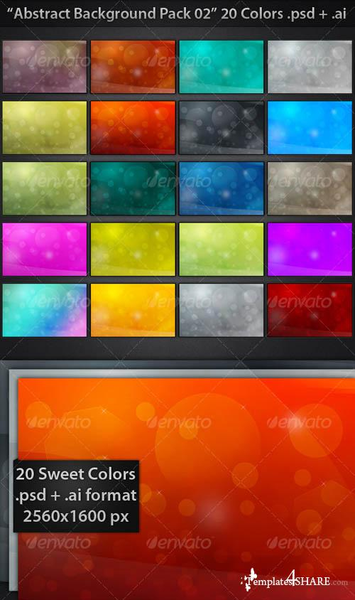 Graphicriver Abstract Backgrounds Pack 02